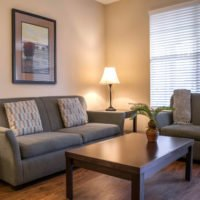 living room – furnished apartments in Charlotte