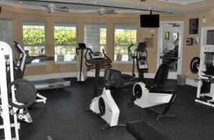 Corporate Apartment fitness Center in Charlotte NC